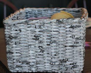 Membengkok bakul tiub akhbar langkah demi langkah untuk pemula (90 + Foto). Bagaimana untuk memulakan dan menamatkan?