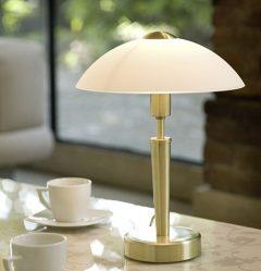 Aydınlatma tasarım kuralları: Masa için masa lambaları.Herkese uygun en iyi seçenekler