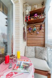 Dolaplı balkon tasarımı - daire alanından tasarruf ediyoruz (165+ Fotoğraf). Kendi ellerinle güzel bir dolap nasıl yapılır?