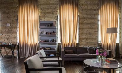 거실의 커튼 (130+ 사진) : 현대 아이디어, 오래 기억 될 2017 년 신제품 모델