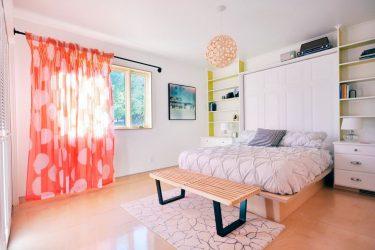 Reka bentuk moden tirai untuk bilik tidur - Butiran penting yang perlu diketahui oleh semua orang
