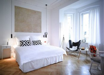 Yatak odası için perdeler: 265+ (Fotoğraflar) Modern tasarım yenilikleri