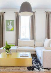 Langsir di pintu balkoni: Pilihan moden untuk hiasan tingkap
