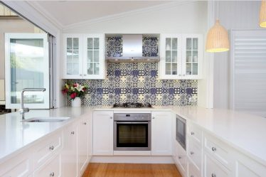 Cam önlükler, mutfak için skinali - Fikir ve stil rehberi bir seçim (140+ Fotoğraflar)