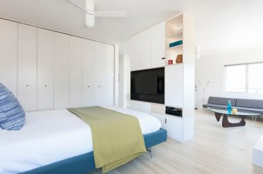 Gaya moden di bahagian dalam apartmen (185+ Foto) - Kesederhanaan mewah reka bentuk yang canggih
