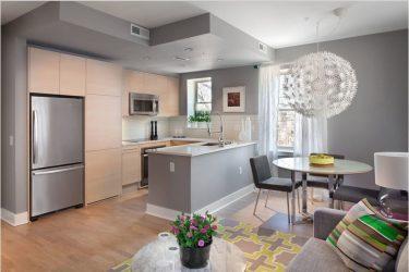 Cara memilih warna untuk dapur: Petua praktikal (200+ Foto)