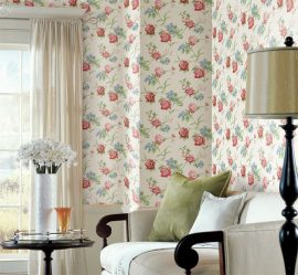 Oturma odası / yatak odası / mutfak / çocuk odası iç duvar kağıdı ve mobilya kombinasyonu. Seçim ne kadar önemli?