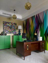 Wenge di pedalaman: kombinasi warna 160+ (Foto) dengan perabot (reka bentuk ruang tamu, bilik tidur, lorong)