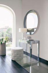 Meja persalinan dengan cermin dan pencahayaan: Pilihan 140+ (Foto) untuk bilik tidur anda
