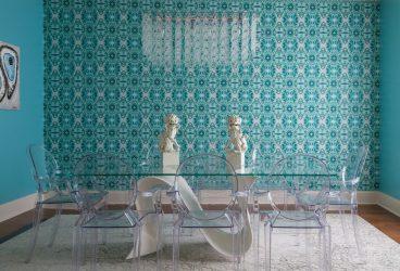 Kertas dinding vinil pada asas bukan tenun (240 + Foto): dari pilihan mudah ke percetakan 3D