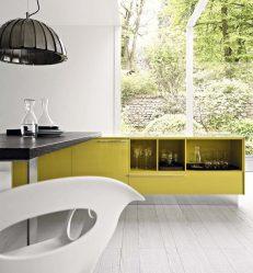 Interni con acidità: + 135 foto della cucina in giallo. Iniziamo la mattina vigorosamente e soleggiato