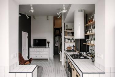 Entresol: 155+ Foto di dalam pangsapuri moden.Memilih pilihan untuk lorong, dapur, di atas pintu