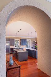 Gerbang ke dapur dan bukannya pintu: 115+ (Foto) Reka bentuk antara bilik