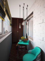 240+ Gambar pilihan untuk menyelesaikan Balcony di dalam: Interior indah dengan tangan mereka sendiri