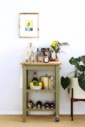 Bar untuk botol di bahagian dalam apartmen atau rumah - Cara terbaik untuk dilakukan? 120+ (foto) dari pokok, lantai, sudut