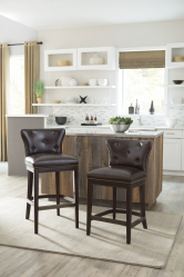 인테리어의 새로운 트렌드 : 바 의자가 인기가있는 이유는 무엇입니까? (나무, 금속, 뒷면 포함). 쾌적한 숙박을위한 완벽한 솔루션 (145 개 이상의 사진)