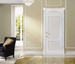 Pintu putih: 210+ (Foto) Reka bentuk di pedalaman. Variasi yang sesuai dengan semua orang