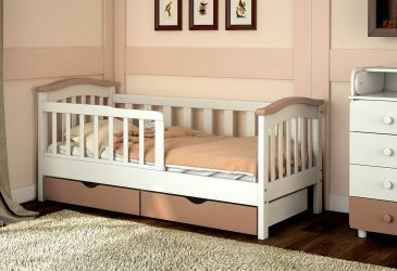 Kız ve erkek çocuklar için yıldan karyolalar: Bebekler için rahat olacak çok fonksiyonlu tasarımlar