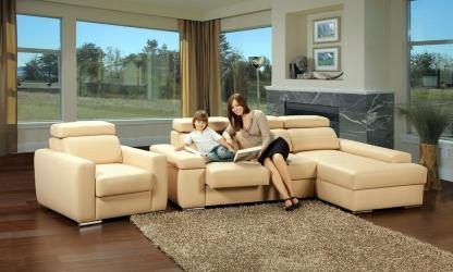 Sofa dengan Utsmaniyah di pedalaman: menyelesaikan masalah dengan pilihan.Peletakan selesa pilihan lurus dan sudut (100 + Foto)