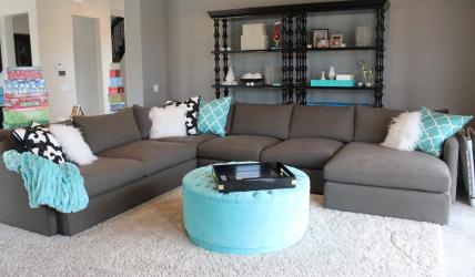Sofa dengan Utsmaniyah di pedalaman: menyelesaikan masalah dengan pilihan. Peletakan selesa pilihan lurus dan sudut (100 + Foto)