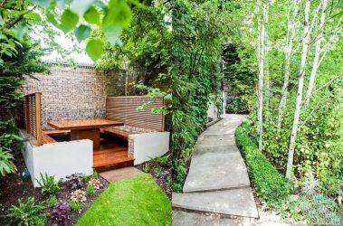 Reka Bentuk Landskap Moden halaman sebuah rumah persendirian (160+ Foto). Bagaimana untuk mengatur dan menghiasi tangan mereka dengan baik