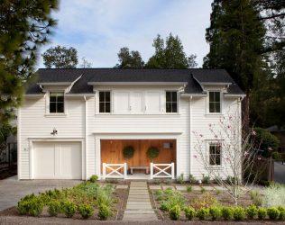 Rumah dua tingkat dengan garaj - Ciri-ciri susun atur (180+ Foto)