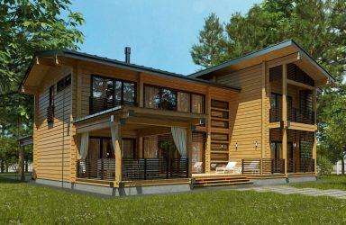 Projek rumah Finland dari kayu terpalut: Apa yang baik dan bagaimana untuk mengatur? (180+ Foto)