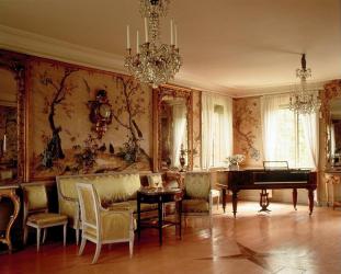 Tapestry Elegant di pedalaman: gabungan dengan gaya, idea reka bentuk (100 + Foto). Bagaimana untuk mencipta reka bentuk yang selesa dengan tangan anda sendiri? (langsir, seprei, lukisan)