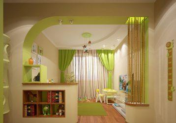 Kız ve erkek çocuk odalarındaki modern perdeler: Güzel yeni eşyalar (175+ Fotoğraf)