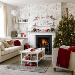 Betapa menarik, bergaya dan asli untuk menghiasi bilik untuk Tahun Baru 2019 dengan tangan anda sendiri (230+ Foto): Ciri-ciri dalaman yang sangat indah di setiap rumah
