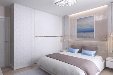 Come fare spazio nella camera da letto sopra il letto: collocazione di quadri di Feng Shui. 170+ (Foto) accenti luminosi ed eleganti