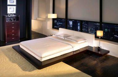 Novelties of the Bed yang indah di bilik tidur: 225+ (Foto) Pilihan untuk tidur yang selesa dan sihat