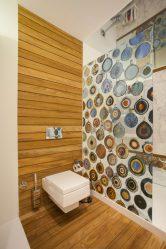 Duvarın İçinde Laminat (100+ Tasarım Fotoğrafları): İç mekanda modaya uygun bir vurgu yapıyoruz!