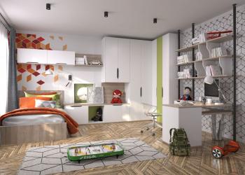 Reka bentuk bilik yang sesuai untuk pelajar: Dalaman (Foto) dalaman untuk kanak-kanak lelaki dan perempuan. Kami menganjurkan keselamatan dan keselesaan untuk anak anda.