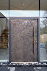 Pintu pintu masuk ke rumah (175+ Foto): Dari pemilihan ke hiasan