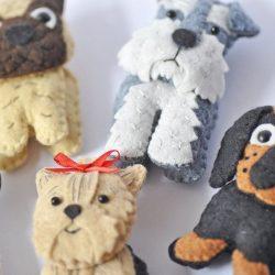Mainan DIY untuk Tahun Baru 2018 - Tahun Anjing (245+ Foto)