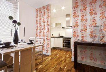 Mutfak için modern duvar kağıdı (240 + Fotoğraf): Fikir Kataloğu