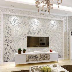 Oturma odasında güzel duvar kağıtları: 150 + İç mekan fotoğrafları. Modern birleştirme fikirleri