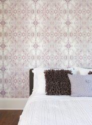 Wallpaper di dalam bilik tidur - ide dalaman dalaman 2017, gambar dan cadangan yang tidak boleh diabaikan
