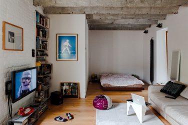 Studio Apartment: Penyelesaian gaya dengan elemen hiasan. 205+ Photo Ideas interior moden