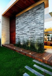 Evin dış dekorasyonu için cephe malzemeleri (225+ Fotoğraf): inanılmaz bir sonuç veren kaplama türleri