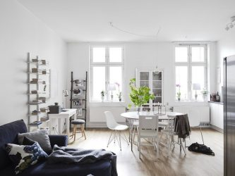 Layout of the 1st (one-room) apartment from (210+ Photos) A to Z, all styles