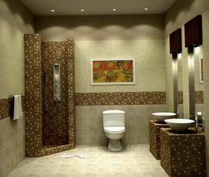 Reka bentuk dan selesaikan bilik mandi dengan panel plastik 110+ Photo - Cara yang cepat dan murah untuk hiasan