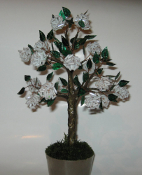 Kraftangan yang diperbuat daripada manik adalah asas untuk pemula dengan skema (pokok, bunga, gambar). Pelajaran kecantikan lakukan sendiri (190+ Foto)