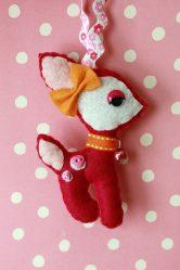 175+ Foto kraf yang dibuat pada Anjing Tahun Baru Anjing do-it-yourself: Corak dan Corak untuk pemula