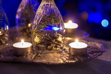 Güzel Şamdanlar Yeni Yıl İçin Kendin Yapar (95+ Fotoğraf)