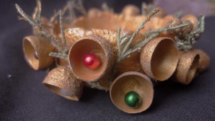 Cara membuat Candlestick Cantik melakukannya sendiri untuk Tahun Baru (95+ Foto): Idea asal untuk kelas induk