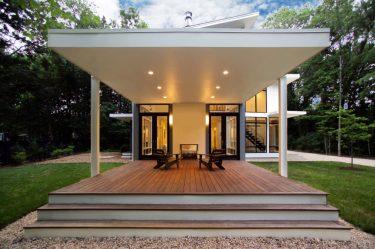 Beaux projets d'une maison d'un étage avec terrasse (175+ Photos). Caractéristiques de placement sur le site