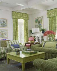 Gabungan warna hijau muda di pedalaman bergaya moden: 185+ (Foto) Reka bentuk untuk Dapur, Ruang Tamu, Bilik Tidur