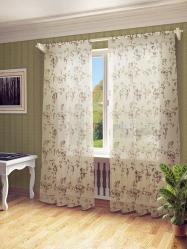 Keindahan udara: Tirai organza akan menambah gaya canggih ke rumah anda. 195+ (Foto) varian gabungan, pendek, putih.Rahsia belanja yang betul